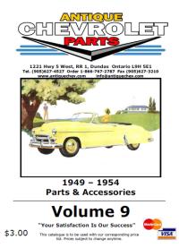 1949-1954 Parts & Accessories
